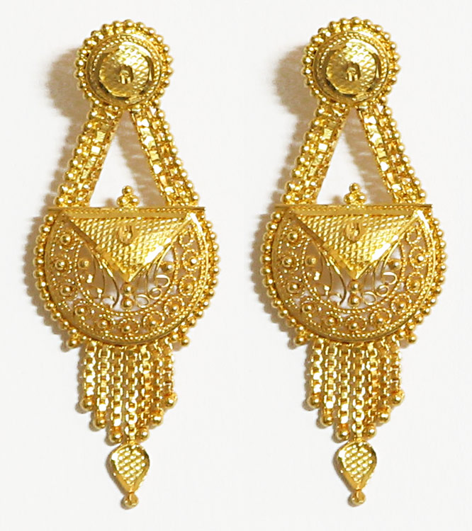 Gold Ear Tops New Designs